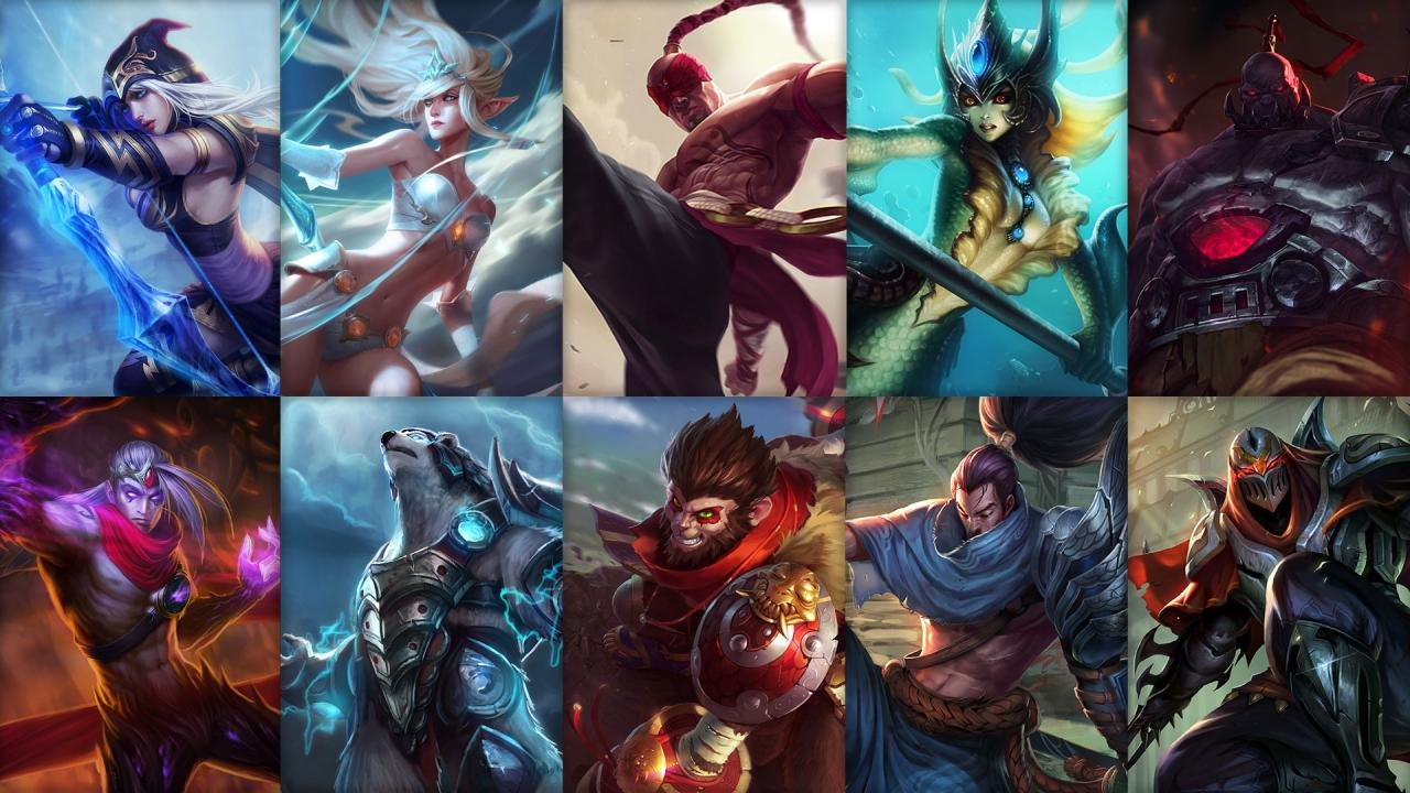 reputable site super quality quality design New free champion rotation: Yasuo, Nami, Zed and more ...