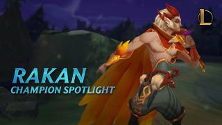 Rakan Champion Spotlight | Gameplay - League of Legends