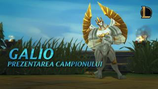 Prezentarea campionului: Galio | Gameplay – League of Legends